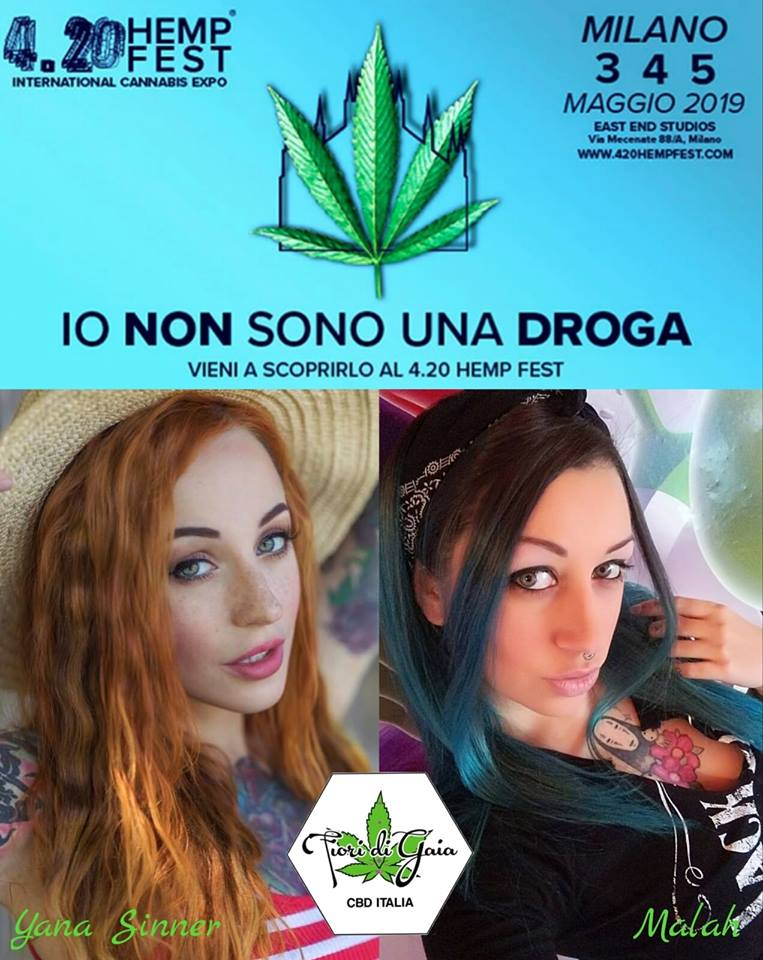 fiori di gaia all'hemp fest