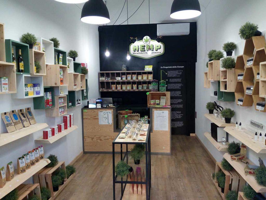 store cannabis legale torino
