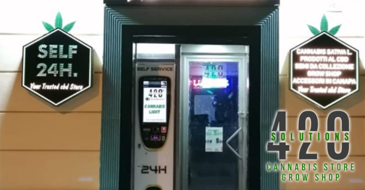 distributore automatico cbd